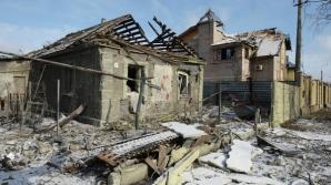 В результате артобстрела в Донецкой области сгорели два дома
