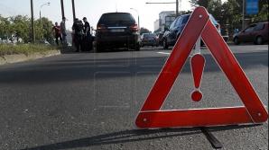 ДТП у села Пересечино: иномарка съехала с трассы в кювет (ФОТО)