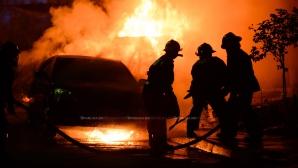 Автомобиль загорелся на ходу в селе Буторы
