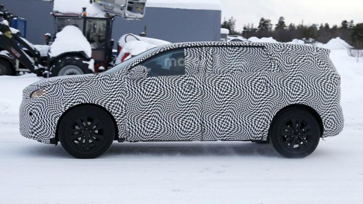 Peugeot начала тесты семиместного кроссовера