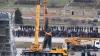 В Запорожье демонтировали самый большой памятник Ленину на Украине (ВИДЕО)