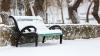Выпавший утром снег жители столицы встретили с удивлением