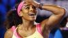Американка Серена Уильямс пробилась в третий круг Открытого чемпионата Австралии по тениссу