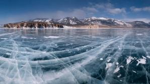 На Байкале провели экстремальный забег по льду