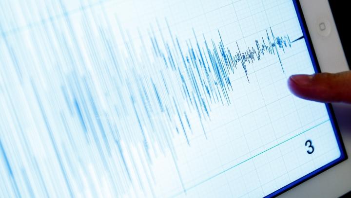 Видео мощного землетрясения в Италии, заснятое очевидцами