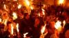 Благодатный огонь сошел в иерусалимском храме Гроба Господня (ВИДЕО)