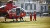 Вертолет SMURD доставил пациента из Ниспорен в Кишинев