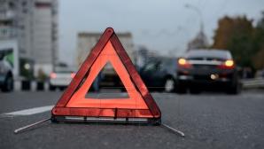ДТП в столице: автомобиль въехал в столб (ВИДЕО)
