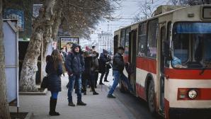 Небезопасный троллейбус курсирует по Кишиневу (ВИДЕО)