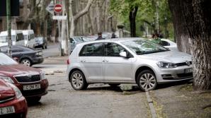 Как припарковал авто житель столицы (ФОТО)
