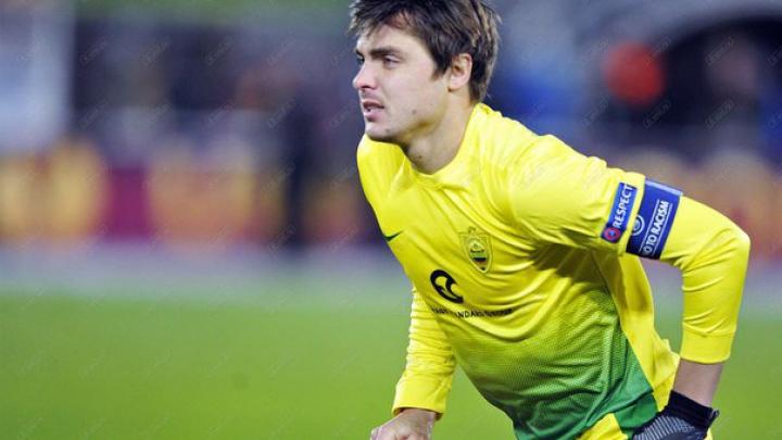 Матч против Израиля стал сотым в составе сборной Молдовы для Александра Епуряну
