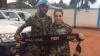 Воссоединение вернувшегося из ЦАР молдавского военного с дочерью (ФОТО)