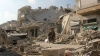 При ударе по лагерю беженцев в Сирии погибли десятки человек