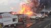 Фабрика фейерверков взорвалась в Великобритании (ВИДЕО)
