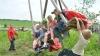В селе Избиште прошел фестиваль «Пасхальные качели»