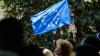 В Дрокии на День Европы выступил духовой оркестр из румынских Ботошан