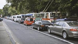 Безбилетник проехал по городу на крыше столичного троллейбуса (ВИДЕО)