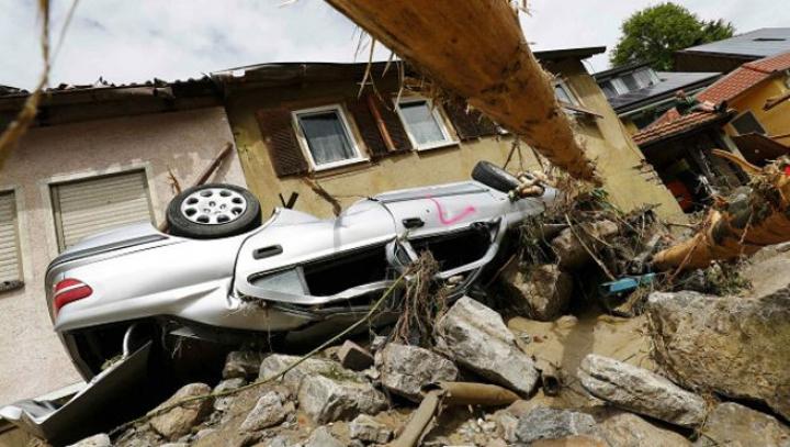 В Германии четыре человека стали жертвами наводнения