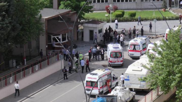 В Турции произошел взрыв у полицейского участка