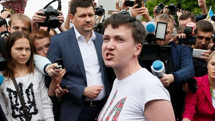 Надежда Савченко готова стать президентом Украины при поддержке народа