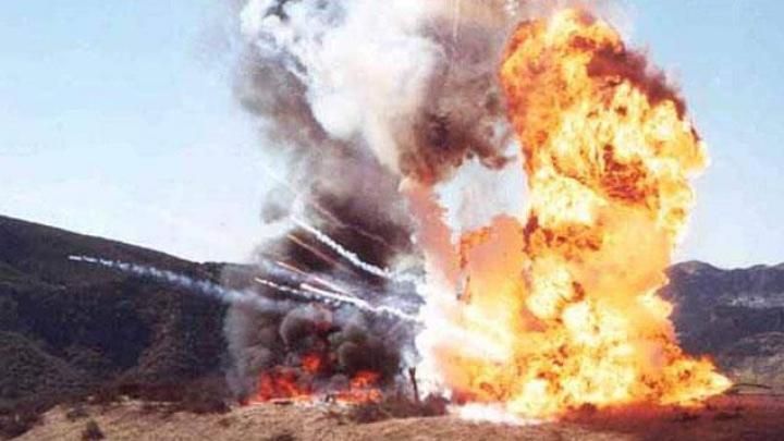 В пожаре на складе боеприпасов в Индии погибли 17 солдат