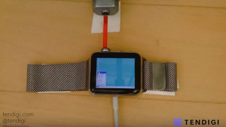 Windows 95 установили на умные часы Apple Watch (ВИДЕО)