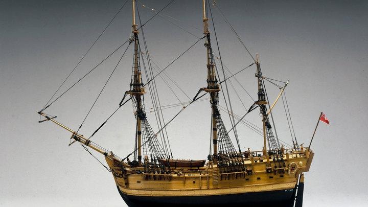 У берегов США найден первый корабль Кука