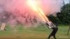 Американец создал ручной пулемёт из фейерверков (ВИДЕО)