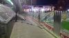Момент обрушения грунта на Рышкановке попал на видео