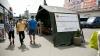 Желтый код метеоопасности: в столице заработали мобильные пункты (ФОТО)