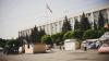 Палатки «Достоинства и правды» убрали с проезжей части (ФОТО)