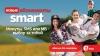 С новыми абонементами Smart, ты свободен в выборе между минутами, SMS или МБ