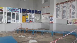 Разруха на Южном автовокзале в столице (ФОТО)