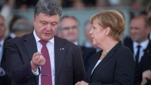 Порошенко и Меркель обсудили санкции против России