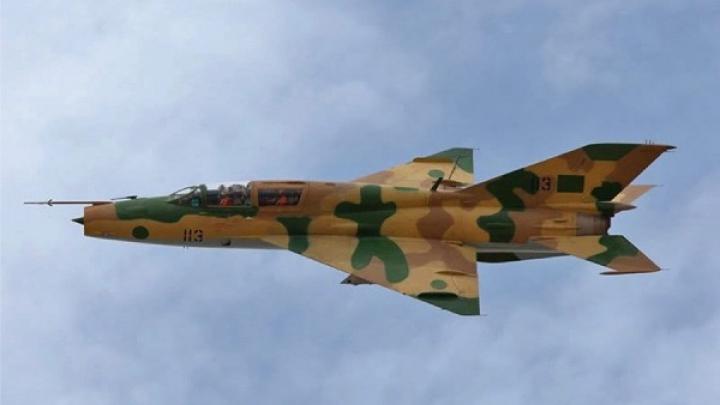 В Сирии разбился военный истребитель