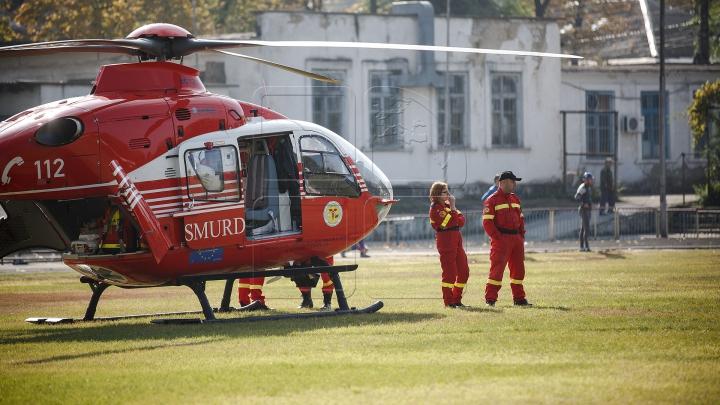 Как выглядел вертолет SMURD, рухнувший в Кантемирском районе (ФОТО)
