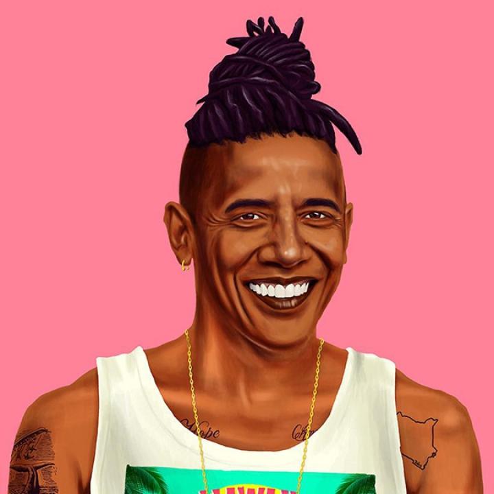 Израильский художник примерил на политиков образы хипстеров (ФОТО)