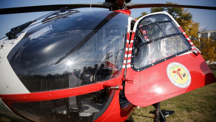 Опубликовано первое видео работ СЧС на месте крушения вертолета SMURD