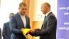 Филип вручил государственный флаг знаменосцу олимпийской сборной Молдовы