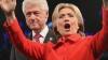 Билл Клинтон уснул во время предвыборного выступления жены (ВИДЕО)