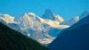 Фотограф заснял мощный оползень в швейцарских Альпах (ВИДЕО)
