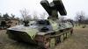 На Украине после парада перевернулся зенитно-ракетный комплекс (ФОТО)