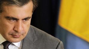 В Киеве угнали бронированный внедорожник Сакаашвили