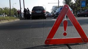 Рейсовый микроавтобус столкнулся в автомобилем в столице (ФОТО)