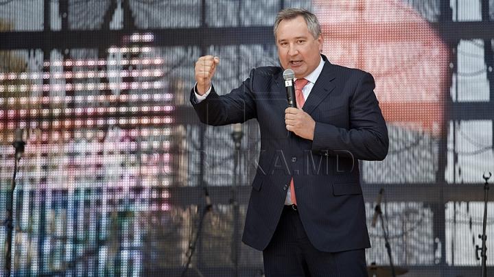 Ироничная реакция Рогозина на встретивших его в Кишиневе националистов
