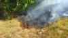 При пожаре в Вадул-луй-Водэ сгорело 20 га растительности (ФОТО, ВИДЕО)