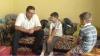 Председатель ДПМ привез подарки двум братьям, которых воспитывает бабушка