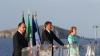Меркель, Олланд и Ренци провели неофициальную встречу на итальянском авианосце