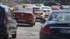 Пробки в Кишиневе: на некоторых дорогах из трех осталось по одной проезжей полосе