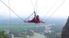 Китайские молодожены устроили экстремальную фотосессию на высоте 180 метров (ВИДЕО)